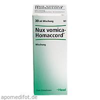 NUX VOMICA HOMACCORD, 30 ML, Biologische Heilmittel Heel GmbH