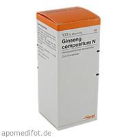 Ginseng compositum N, 100 ML, Biologische Heilmittel Heel GmbH