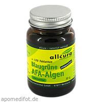 AFA Algen Tabletten 250mg, 120 ST, Allcura Naturheilmittel GmbH