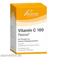 VITAMIN C 100 Pascoe, 100 ST, Pascoe pharmazeutische Präparate GmbH