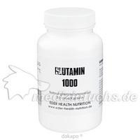 Glutamin 1000, 60 ST, Eder Health Nutrition