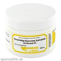 Wasserhaltige Basiscreme(hydrophob)mit 5%Olivenöl, 100 G, Pharmachem GmbH & Co. KG