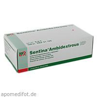 SENTINA AMBIDEXTROUS S UNGEPUDERT UH, 100 ST, Lohmann & Rauscher GmbH & Co. KG