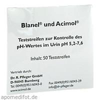 Teststreifenheft z. Bestimmung d. Urin-ph-Wertes, 50 ST, Dr. Pfleger Arzneimittel GmbH