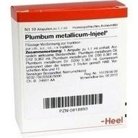 PLUMBUM MET INJ, 10 ST, Biologische Heilmittel Heel GmbH