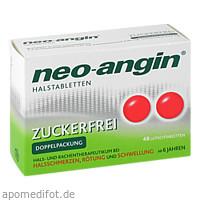 neo-angin Halstabletten zuckerfrei, 48 ST, MCM KLOSTERFRAU Vertr. GmbH