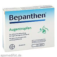 Bepanthen Augentropfen, 20X0.5 ML, Bayer Vital GmbH