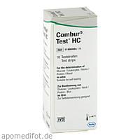 Combur 5-Test HC, 10 ST, Roche Diagnostics Deutschland GmbH