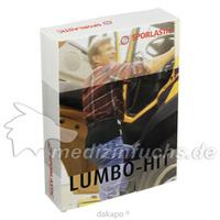 SPORLASTIC LUMBO-HIT 07405 schwarz 4, 1 ST, Sporlastic GmbH
