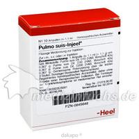 PULMO SUIS INJ ORG, 10 ST, Biologische Heilmittel Heel GmbH
