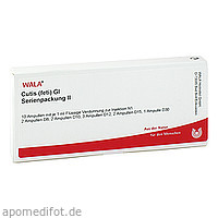 Cutis (feti) Gl Serienpackung II, 10X1 ML, Wala Heilmittel GmbH