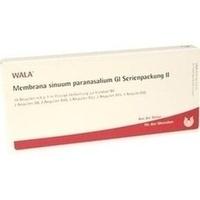 Membrana sinuum paranasal. Gl Serienpackung II, 10X1 ML, Wala Heilmittel GmbH