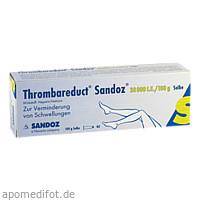 Thrombareduct Sandoz 30 000 I.E. Salbe, 100 G, HEXAL AG