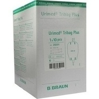 Urimed Tribag Plus 500ml mit 2cm Schlauch, 10 ST, B. Braun Melsungen AG