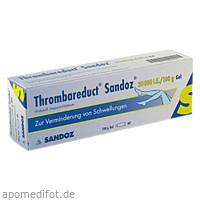 Thrombareduct Sandoz 30 000 I.E. Gel, 100 G, HEXAL AG