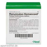 RANUNCULUS HOMACCORD, 10 ST, Biologische Heilmittel Heel GmbH