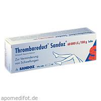 Thrombareduct Sandoz 60 000 I.E. Salbe, 100 G, HEXAL AG