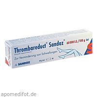 Thrombareduct Sandoz 60 000 I.E. Gel, 40 G, HEXAL AG