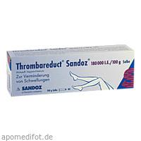 Thrombareduct Sandoz 180 000 I.E. Salbe, 100 G, HEXAL AG