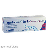 Thrombareduct Sandoz 180 000 I.E. Gel, 100 G, HEXAL AG
