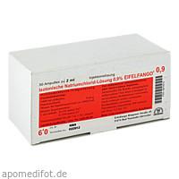 Isotonische Natriumchlorid-Lösung 0.9% EIFELFANGO, 50X2 ML, Eifelfango GmbH & Co. KG