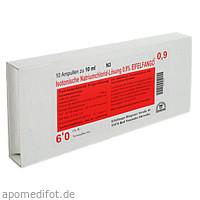 Isotonische Natriumchlorid-Lösung 0.9% EIFELFANGO, 10X10 ML, Eifelfango GmbH & Co. KG