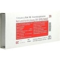 Natriumchlorid-Lösung 20% EIFELFANGO, 10X10 ML, Eifelfango GmbH & Co. KG