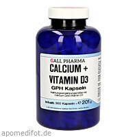 Calcium + Vitamin D3 GPH Kapseln, 360 ST, Hecht-Pharma GmbH