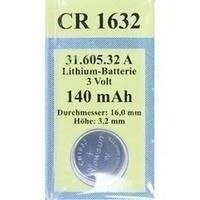 Batterie Lithium 3V CR 1632, 1 ST, Vielstedter Elektronik
