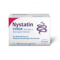 Nystatin STADA 500.000 I.E. überzogene Tabletten, 100 ST, STADA Consumer Health Deutschland GmbH