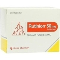 RUTINION, 250 ST, Biomo Pharma GmbH