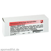 Thymus vulgaris D12, 10 G, Dr.Reckeweg & Co. GmbH