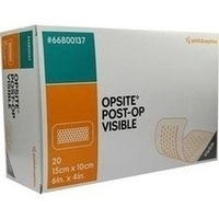 OpSite Post OP Visible 15x10cm, 20 ST, Smith & Nephew GmbH