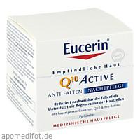 Eucerin EGH Q10 Active Nacht, 50 ML, Beiersdorf AG Eucerin