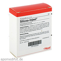 SILICEA INJ, 10 ST, Biologische Heilmittel Heel GmbH