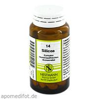SILICEA KOMPL NESTM 14, 120 ST, Nestmann Pharma GmbH
