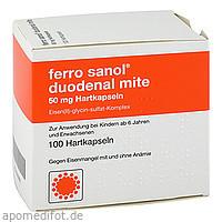 Ferro Sanol duodenal mite 50mg magensaftres. HKP, 100 ST, UCB Pharma GmbH