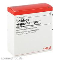 SOLIDAGO VIRGA INJ, 10 ST, Biologische Heilmittel Heel GmbH