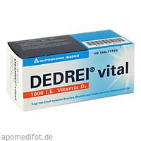DEDREI vital, 100 ST, Meda Pharma GmbH & Co. KG