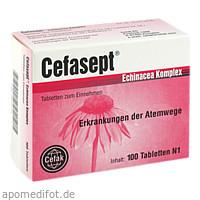 Cefasept Echinacea Komplex, 100 ST, Cefak KG