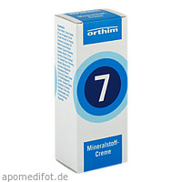 MINERALSTOFF-Creme Nr.7, 75 ML, Orthim KG