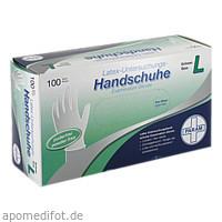 Einmal Handschuhe Latex puderfrei L, 100 ST, Param GmbH