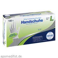 Einmal Handschuhe Vinyl puderfrei L, 100 ST, Param GmbH