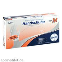Einmal Handschuhe Vinyl puderfrei M, 100 ST, Param GmbH