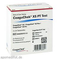 CoaguChek XS PT Test, 2 × 24 Stück, Roche Diagnostics Deutschland GmbH
