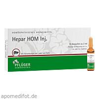 Hepar HOM Inj., 10X2 ML, Homöopathisches Laboratorium Alexander Pflüger GmbH & Co. KG