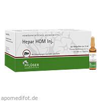 Hepar HOM Inj., 50X2 ML, Homöopathisches Laboratorium Alexander Pflüger GmbH & Co. KG