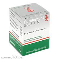 Fundament Salz I N, 80 Stück, Dr. F. U. C.-H. Siegerth Naturheilmittel GmbH