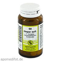 Hepar sulfuricum F Komplex 68, 120 ST, Nestmann Pharma GmbH