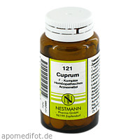 Cuprum F Komplex 121, 120 ST, Nestmann Pharma GmbH